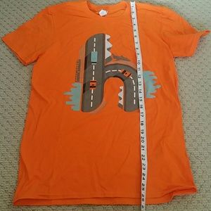 Orange t-shirt Travel Hommily